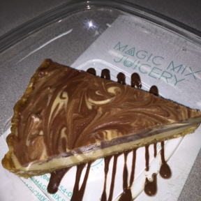 Gluten-free tart from Magic Mix Juicery