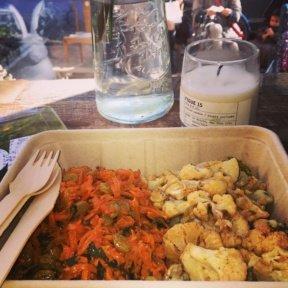 Gluten-free veggie sides from Maman