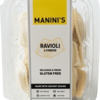 Gluten-free four cheese ravioli by Manini's