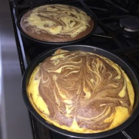 2 Gluten-free Marble Cakes