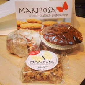 Gluten-free baked goods from Mariposa Baking