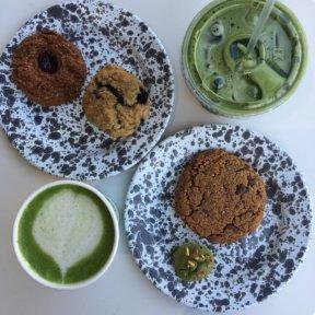 Gluten-free spread from MatchaBar
