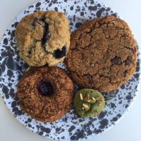 Gluten-free baked goods from MatchaBar