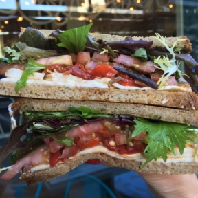 Gluten-free sandwich from Mendocino Farms