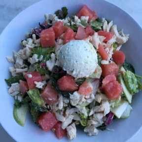 Gluten-free chicken salad from Mendocino Farms