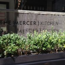 Mercer Kitchen in SoHo NYC