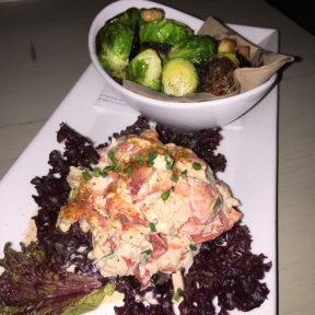 Gluten-free lobster salad from Mermaid Oyster Bar