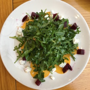 Gluten-free beet salad from Messhall Kitchen