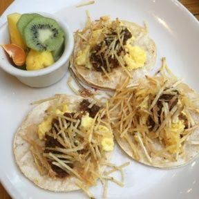 Gluten-free breakfast tacos from Messhall Kitchen