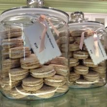 Gluten-free macarons from Miette Patisserie