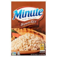 Gluten-free brown rice from Minute Rice