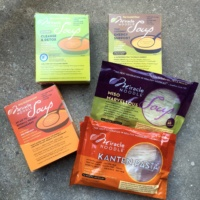 Gluten-free soups and pasta from Miracle Noodle