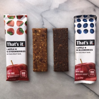 Gluten-free fruit bars by That's It