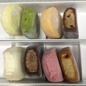 Gluten-free mochi ice cream from Mochidoki