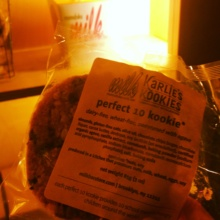 Gluten-free cookie from Momofuku Milk Bar