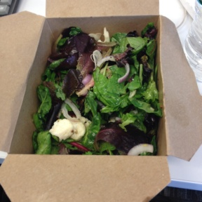 Gluten-free salads from Monument Lane