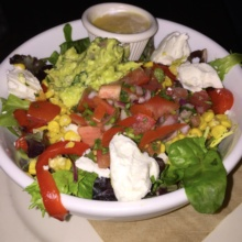 Gluten-free salad from Mudspot