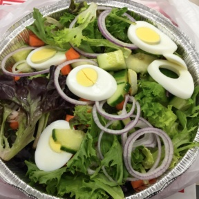 Gluten-free salad from Murphy's Tavern
