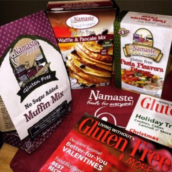 Gluten free mixes and pasta by Namaste Foods