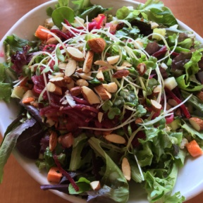 Gluten-free salad from Native Foods Cafe