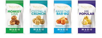 Gluten-free snacks by Nourish Snacks