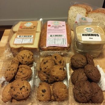 Gluten-free cookies and bread by Nummies Bakery