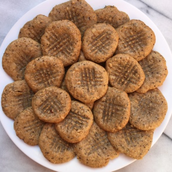 Nut and seed butter cookies