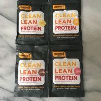 Gluten-free protein packets from Nuzest