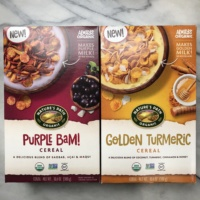 Gluten-free cereal from Nature's Path