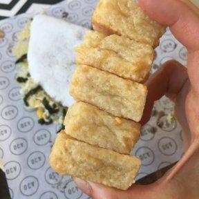 Gluten-free oca bites from Oca
