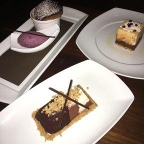 Gluten-free desserts from Oceana