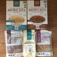 Gluten-free granola and cereal from One Degree Organics