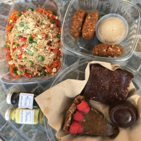 Gluten-free lunch spread from Open Source Organics