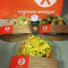 Gluten-free sides from Organic Avenue