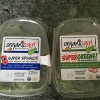 Spinach and supergreens from Organic Girl