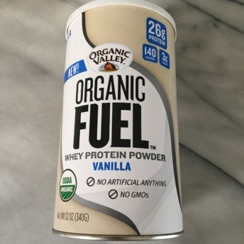 Gluten-free protein powder from Organic Valley