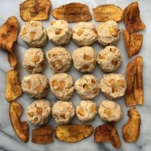 Gluten-free Paleo Cinnamon Plantain Cookies with Plantains