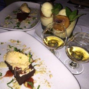 Gluten-free desserts from Pampano
