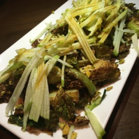 Gluten-free brussels sprouts with apple from Panzano