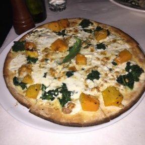 Gluten-free squash pizza from Pappardella