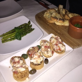 Gluten-free appetizers from Pappardella