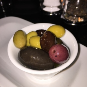 Olives from Parker & Quinn at The Refinery Hotel