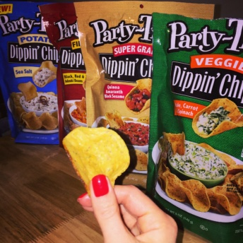 Gluten-free chips from Party-Tizers Dippin' Chips