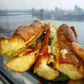 Gluten-free sandwich from Pastai
