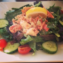 Gluten-free lobster salad from Pearl Oyster Bar