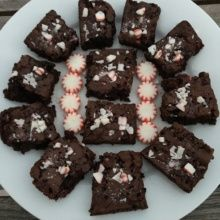 Gluten-free Chocolate Peppermint Brownies