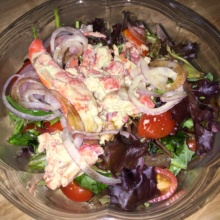 Gluten-free lobster salad from Piccolo Cafe