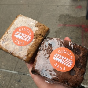 Gluten-free bars from Pie by the Pound