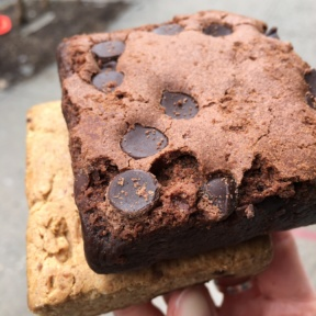 Gluten-free brownies from Pie by the Pound