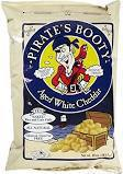 Gluten-free white cheddar popcorn from Pirate's Brands